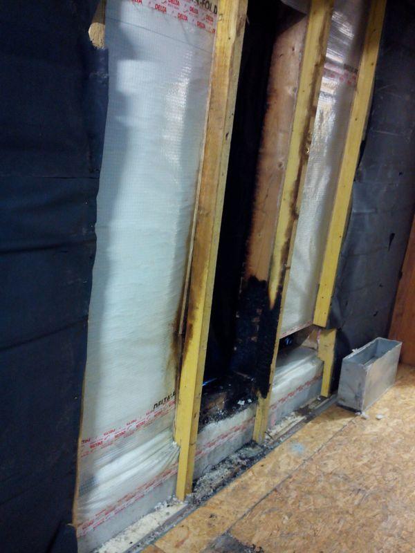 Réparation après incendie